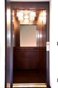 Aufzug mit Speziellem Licht