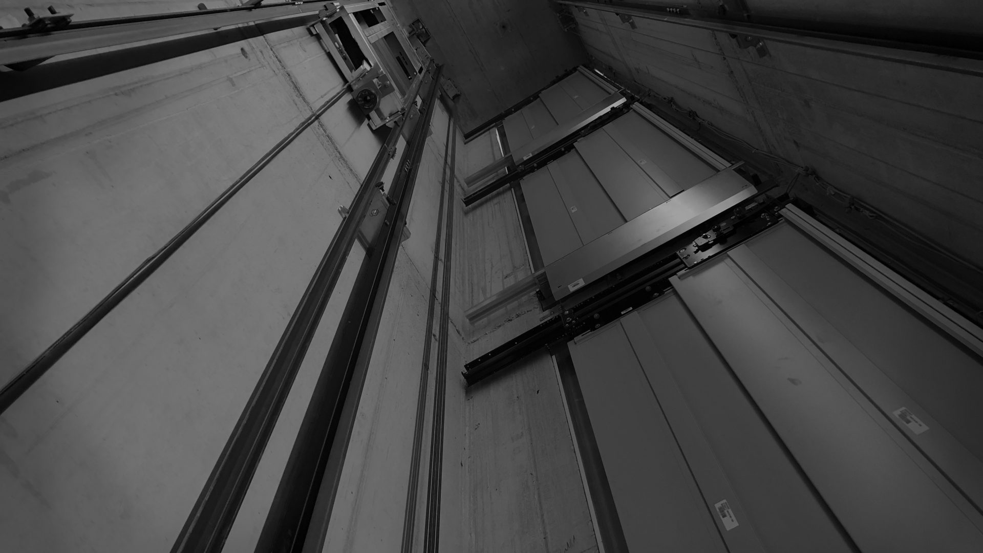 Aufzug Schacht
